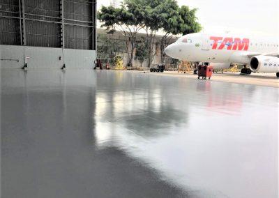 Pintura epóxi para hangar